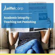 Academic integrity -Teaching not punishing